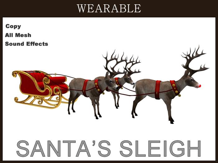 [TomatoPark] DEMO Wearable Santa's Sleigh