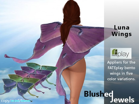 Blushed - Luna Wings Appliers for Fate Bento Wings