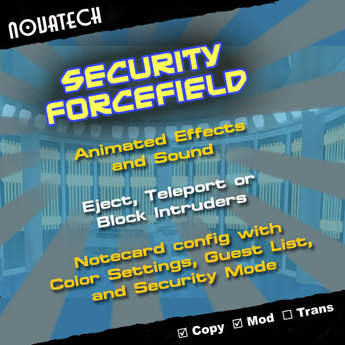 Novatech Security Forcefield