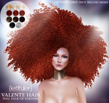 {Letituier} Valente Hair - Fatpack