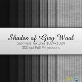 Shades of Grey Wool Fabric Seamless Clothing Textures
