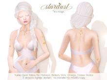 Stardust - Yukiko - Gold Tattoo (WEAR ME)