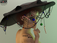 AZOURY - Grimm Headwear Black