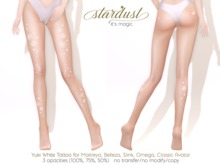 Stardust - Yuki - White Tattoo (WEAR ME)