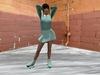 Roller skate  aqau 001