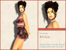 Kanon Female Shape - Rhea - For LeLutka Simone 2.0