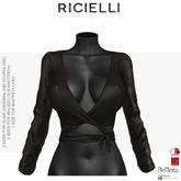 Ricielli - Ballerina Blouse /Raven