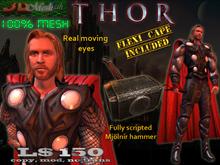 [Thorsten] Full mesh avatar w/working hammer