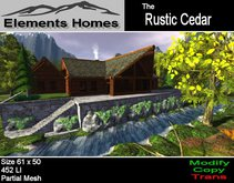 Rustic Cedar Log Home