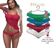 Eyelure Hipster Panties   Sleigh  Pack of 4