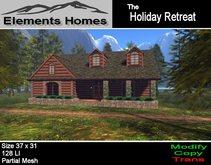 The Holiday Retreat Log Home