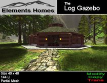 The Gazebo Log Cabin