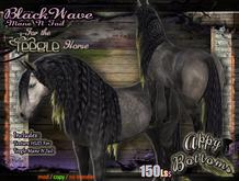 ~AppyBottoms~ Teegle BlackWave Mane N Tail Set
