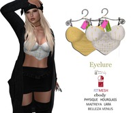 Eyelure Party Tops   2 -Pack    Gold/GoldArrow