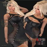 .:-->> YELIZ <<--:.  *SO NAUGHTY !* Leather Dress - MEGA-HUD -