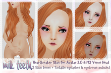 milk teeth. Hearbreaker skin mod for Venus head - COMPLETE