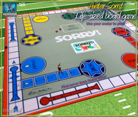 .::MD::. Avatar Sorry! Life-Sized Board Game