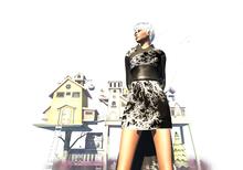 [in] Sanity Outfit   Kimono Yumiko Black