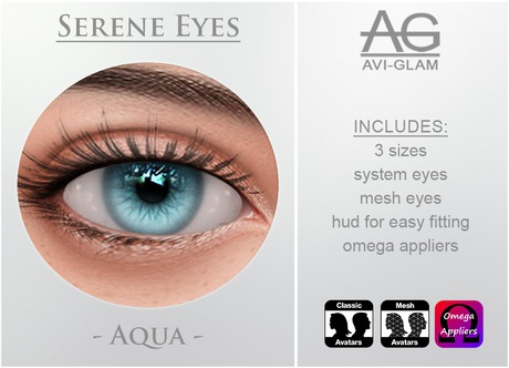 AG. Serene Eyes - Aqua