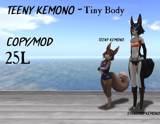 Teeny kemono - Tiny Body