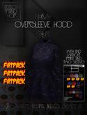 Ec.cloth - Oversleeve hood - FATPACK (unpacked)