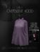 Ec.cloth - Oversleeve hood - Gray (unpacked)
