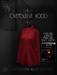 Ec.cloth - Oversleeve hood - Red (unpacked)