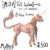 ~Mythril~ Teegle Animations: [M.O.R] Tail animations