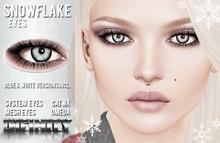 !NFINITY Snowflake Eyes (wear to unpack)