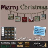 [A-U] Deco :: Merry Christmas - Picture