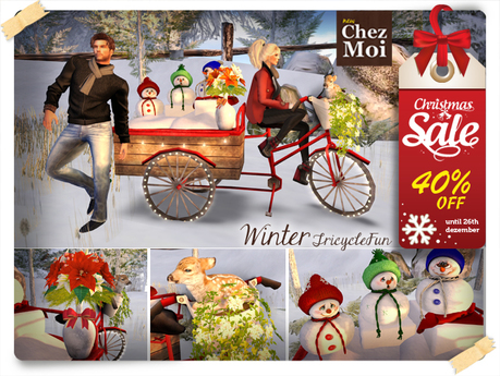 WinterTricycleFun ♥ NEW Chez Moi