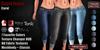 GAS [Capri Jeans Carol - 7 Favorite Colors w/HUD PACK]