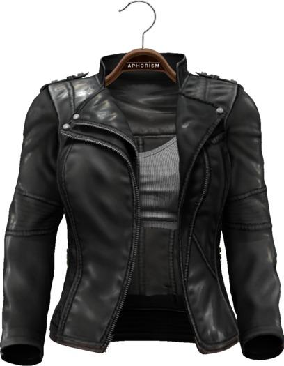 !APHORISM! Easy Rider Jacket Black - Women