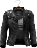 !APHORISM! Easy Rider Jacket Black - Women
