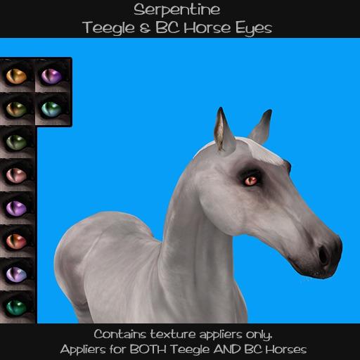 Teegle Eye Set: Serpentine