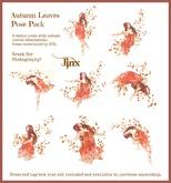 Jinx : Autumn Leaves Pose Pack