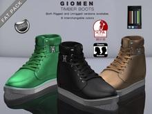 G I O M E N - Timber Boots [FAT PACK] HUD