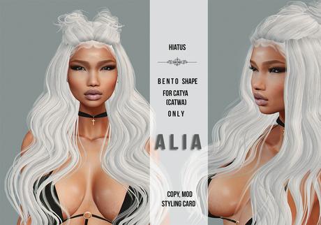 HIATUS - A L I A  Bento shape /Catwa - Catya head/