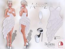 AdoreZ-Genni Outfit White's