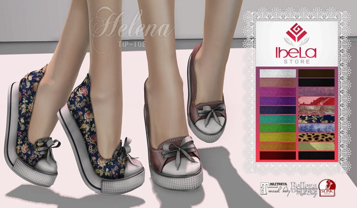 Ibela Store - Sneakers Tip Toe Helena