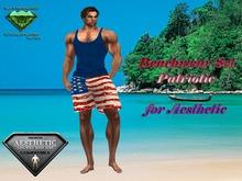 EC Beachwear Set Patriotic [Aesthetic]