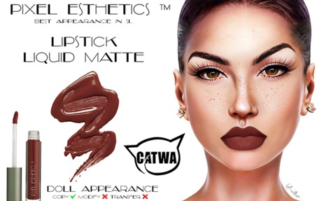 .:DA:. Lipstick Liquid Matte CATWA 1