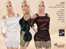 Sweet Temptations :: Livia Dress - Maitreya, Slink (P, H), Belleza (V, I, F) - 10 Textures