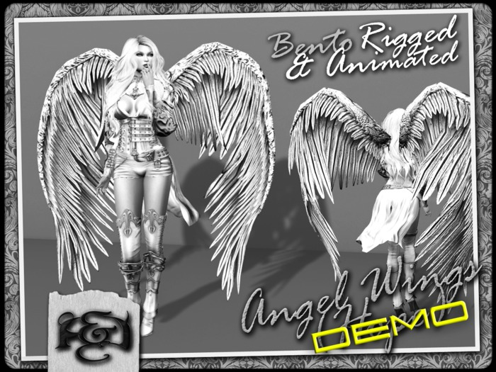 [EC] - Angel Wings DEMO (BENTO - Animated) (M/F) (Regular, Small, & Child Sizes)