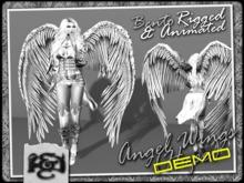 [EC] - Angel Wings DEMO (BENTO - Animated) (M/F) (Regular, Small, & Child Sizes)