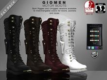 G I O M E N - Motor Boots [FAT PACK]