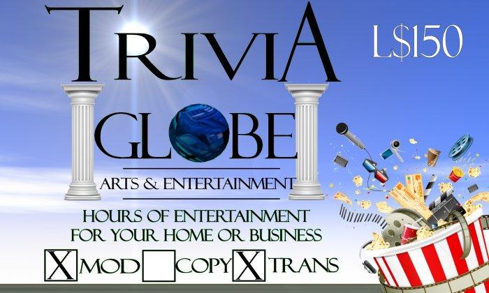 Arts & Entertainment Trivia Globe