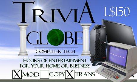 Computer Tech Trivia Globe