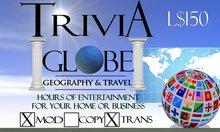 Geography & Travel Trivia Globe