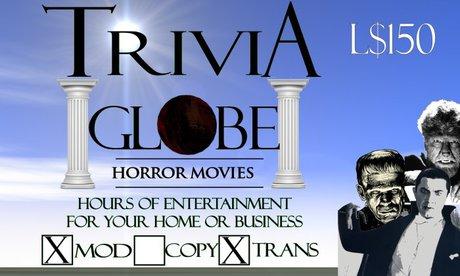 Horror Movie Trivia Globe